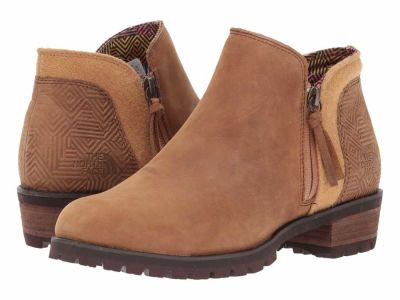 The North Face - The North Face Women's Tagumi Brown Brunette Brown (Past Season) Bridgeton Bootie Zip Ankle Boots Booties