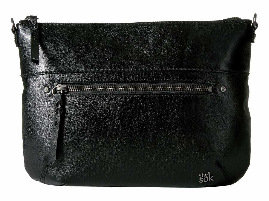 The Sak Black Onyx Oleta Leather Clutch Clutch Bag