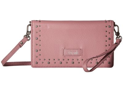 The Sak - The Sak Mauve Stud Willow Smartphone Crossbody Clutch Bag
