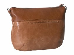 The Sak Tobacco Floral Embossed Oleta Leather Clutch Cross Body Bag - Thumbnail