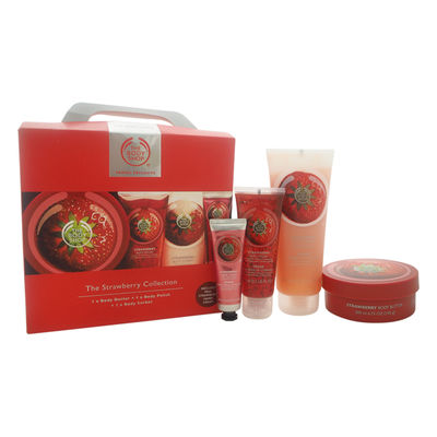 The Body Shop - The Strawberry Collection Travel Exclusive 4Pc Kit