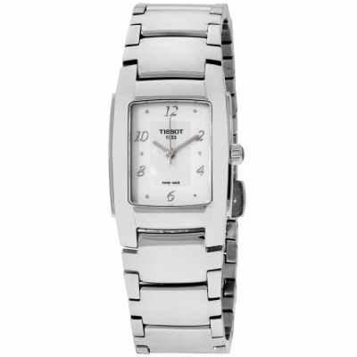Tissot - Tissot T-Trend Mother of Pearl Dial Stainless Steel Ladies Watch T0733101111600