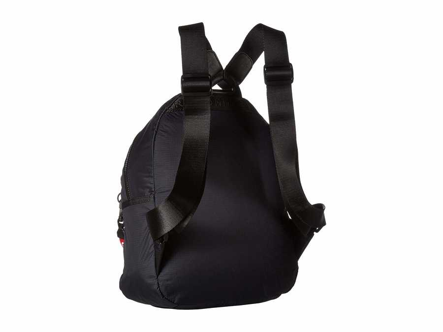 Tommy Hilfiger Black Crewe Nylon Backpack