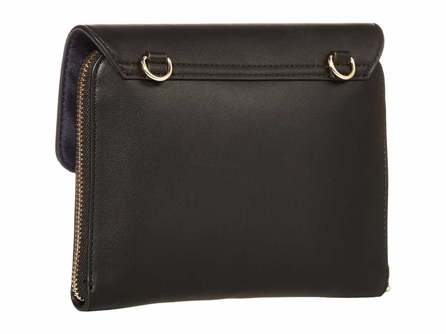 Tommy Hilfiger Black İnes Smooth Cross Body Bag