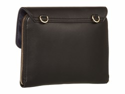 Tommy Hilfiger Black İnes Smooth Cross Body Bag - Thumbnail