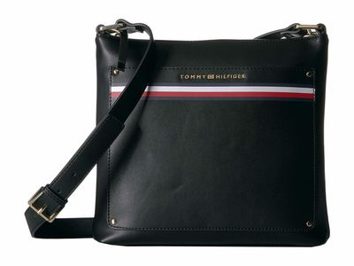 Tommy Hilfiger - Tommy Hilfiger Black Mari North/South Cross Body Bag