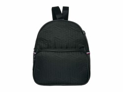 Tommy Hilfiger Black Taylor Smooth Nylon Mini Crossbody Backpack - Thumbnail