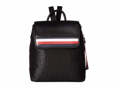 Tommy Hilfiger - Tommy Hilfiger Black/Tonal Gianna Backpack