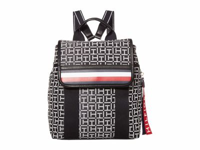 Tommy Hilfiger - Tommy Hilfiger Black/White Viola Backpack