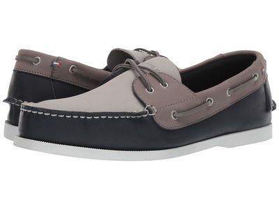 Tommy Hilfiger - Tommy Hilfiger Men Dark Blue Bowman11 Boat Shoes