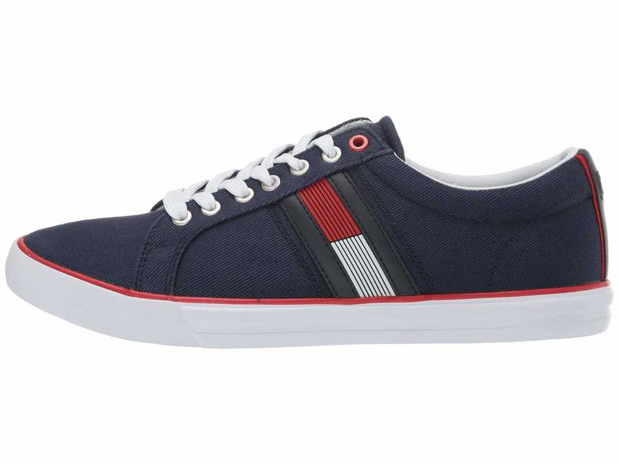 Tommy Hilfiger Men Dark Blue Remi Lifestyle Sneakers