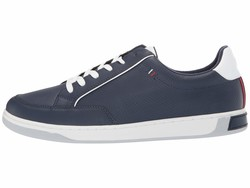 Tommy Hilfiger Men Dark Blue Sinclair Lifestyle Sneakers - Thumbnail