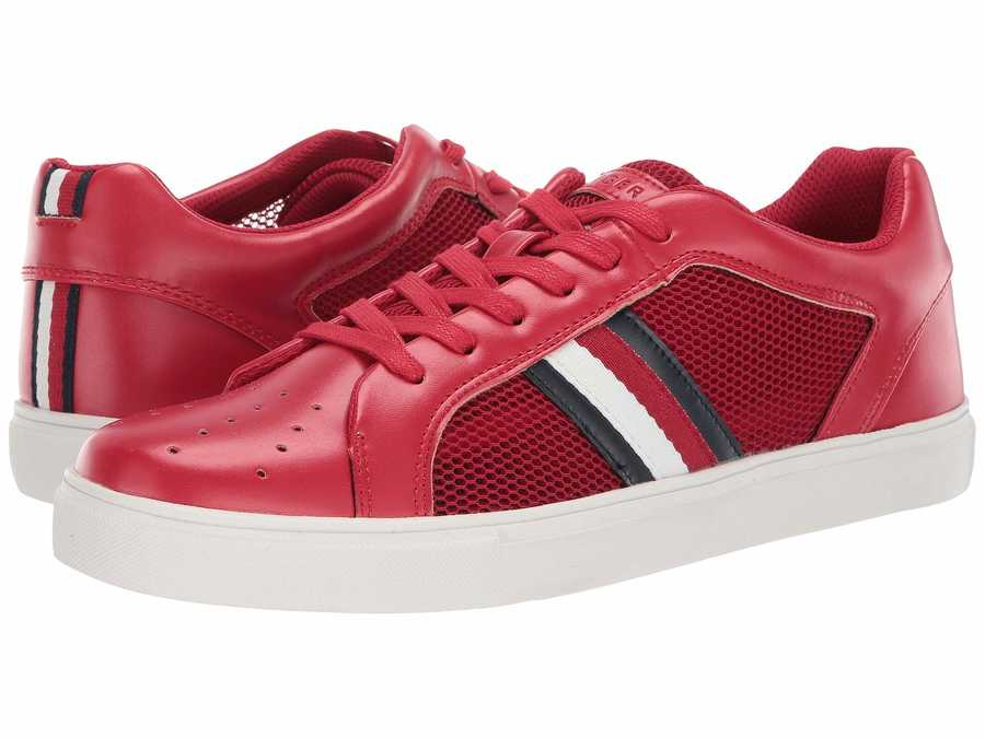 Tommy Hilfiger Men Dark Red Montreal Lifestyle Sneakers