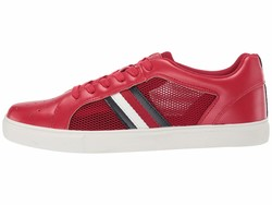 Tommy Hilfiger Men Dark Red Montreal Lifestyle Sneakers - Thumbnail