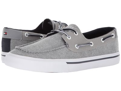 Tommy Hilfiger - Tommy Hilfiger Men Grey Pharis Boat Shoes