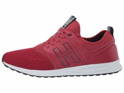 Tommy Hilfiger Men Red Lister Lifestyle Sneakers - Thumbnail