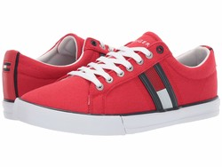 Tommy Hilfiger Men Red Multi Pally Lifestyle Sneakers - Thumbnail