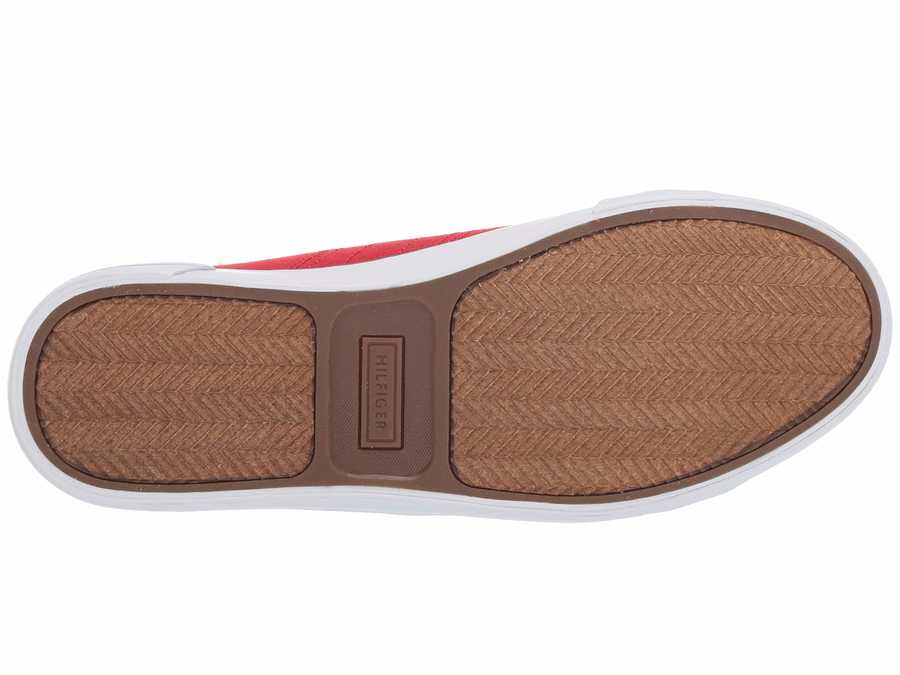 Tommy Hilfiger Men Red Multi Remi Lifestyle Sneakers