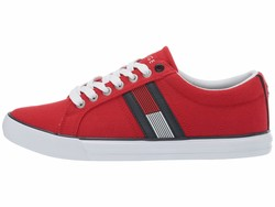 Tommy Hilfiger Men Red Multi Remi Lifestyle Sneakers - Thumbnail