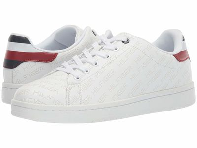 Tommy Hilfiger - Tommy Hilfiger Men White Loro Lifestyle Sneakers