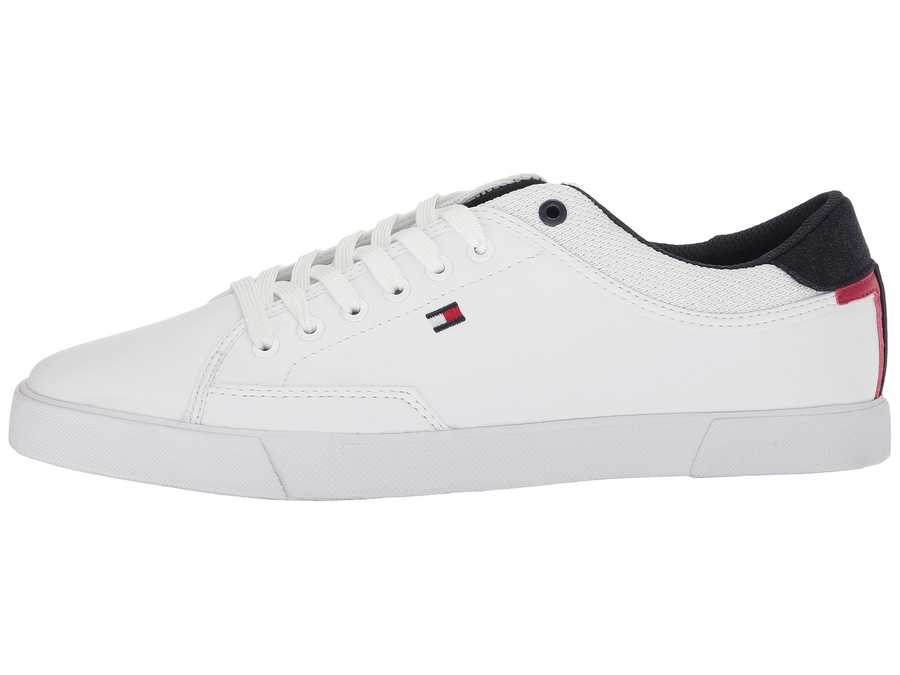 Tommy Hilfiger Men White Ness Lifestyle Sneakers