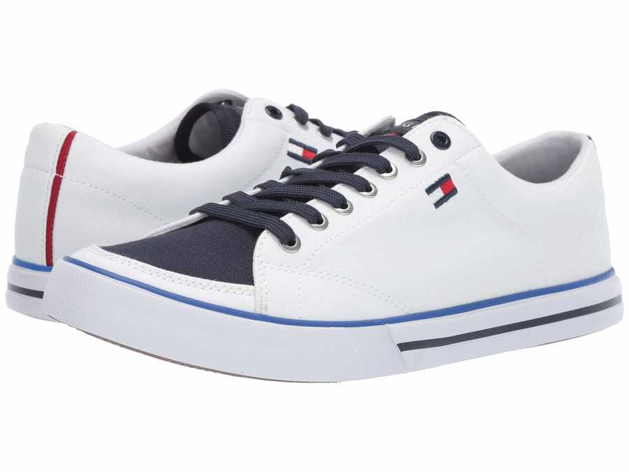 Tommy Hilfiger Men White Regis Lifestyle Sneakers