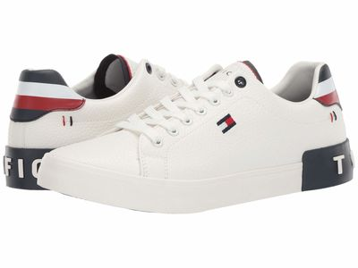 Tommy Hilfiger - Tommy Hilfiger Men White Rezz Lifestyle Sneakers