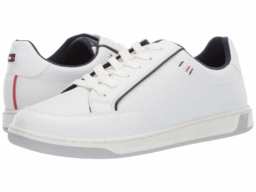 Tommy Hilfiger Men White Sinclair Lifestyle Sneakers