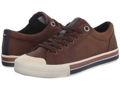 Tommy Hilfiger - Tommy Hilfiger Men's Cognac Reno 2 Sneakers Athletic Shoes 8616813184651