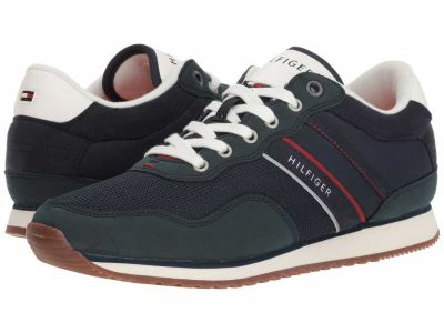 Tommy Hilfiger - Tommy Hilfiger Men's Navy 1 Marcus Sneakers Athletic Shoes