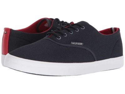 Tommy Hilfiger - Tommy Hilfiger Men's Navy/Chili Pepper Parry Sneakers Athletic Shoes