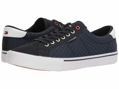 Tommy Hilfiger - Tommy Hilfiger Men's Navy/White Rotter Sneakers Athletic Shoes