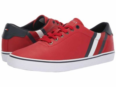 Tommy Hilfiger - Tommy Hilfiger Men's Red Paige Lifestyle Sneakers