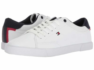 Tommy Hilfiger - Tommy Hilfiger Men's White Ness Sneakers Athletic Shoes