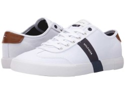 Tommy Hilfiger Men's White Pandora Sneakers Athletic Shoes 866444114 - Thumbnail