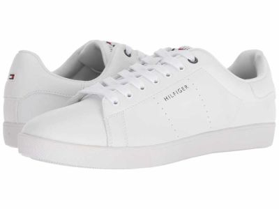 Tommy Hilfiger - Tommy Hilfiger Men's White Thrive Lifestyle Sneakers