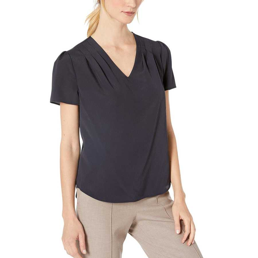 Tommy Hilfiger Midnight Short Sleeve Woven Top