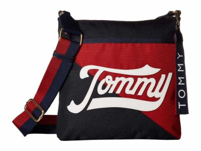 Tommy Hilfiger - Tommy Hilfiger Navy/Multi Daly Large North/South Cross Body Bag