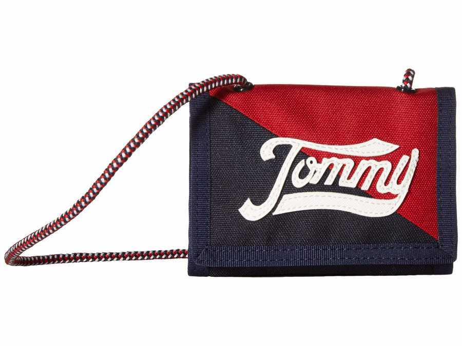Tommy Hilfiger Navy/Multi Daly Trifold Trifold Wallet