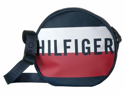 Tommy Hilfiger - Tommy Hilfiger Navy/Red/White Keys Canteen Cross Body Bag