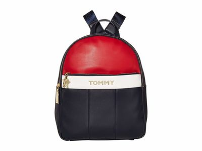 Tommy Hilfiger - Tommy Hilfiger Navy/Red/White Peyton Backpack