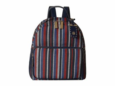 Tommy Hilfiger - Tommy Hilfiger Navy/Natural Julia Novelty Backpack