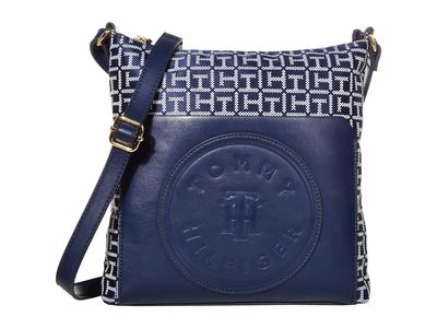 Tommy Hilfiger - Tommy Hilfiger Navy/White Virden Cross Body Bag