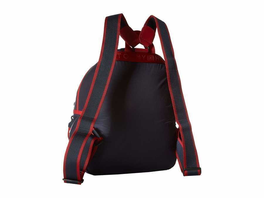 Tommy Hilfiger Red/Multi Crewe Backpack