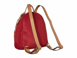 Tommy Hilfiger Rhubarb Julia Smooth Nylon Dome Backpack - Thumbnail