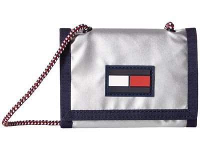 Tommy Hilfiger - Tommy Hilfiger Silver Leah Trifold Trifold Wallet