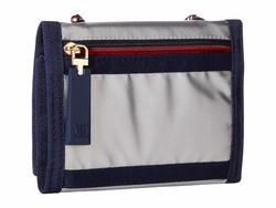 Tommy Hilfiger Silver Leah Trifold Trifold Wallet - Thumbnail