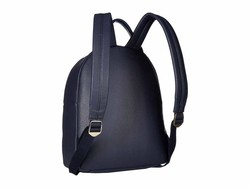 Tommy Hilfiger Tommy Navy İmogen Pebble Pvc Backpack - Thumbnail