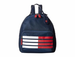 Tommy Hilfiger Tommy Navy Julia Dome Backpack - Thumbnail
