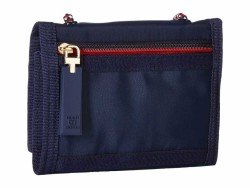 Tommy Hilfiger Tommy Navy Leah Trifold Trifold Wallet - Thumbnail